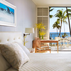 Halekulani's guestrooms have been renewed and reinvigorated. // © 2013 Halekulani Corp.