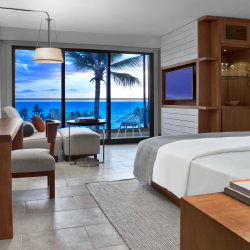 Guestrooms provide stunning views. // © 2013 Andaz Maui at Wailea