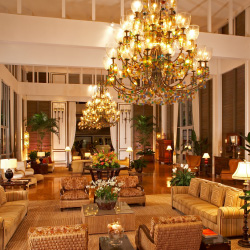 The Kahala's lobby still sparkles after 50 years. // © 2014 The Kahala Hotel & Resort