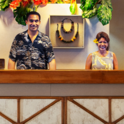 <p>The hotel's employees welcome guests with a genuine sense of pride in their property. // © 2015 Castle Resorts & Hotels</p><p>Feature image...