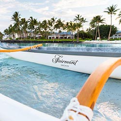 <p>Fairmont Orchid, Hawaii guests learn about the outrigger canoe's importance to Hawaiian culture. // © 2017 Fairmont Orchid, Hawaii</p><p>Feature...