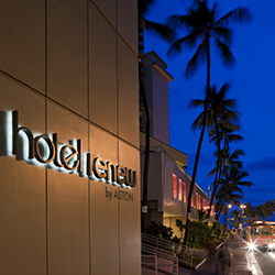 <p>Hotel Renew by Aston boasts an ideal location just one-half block from Waikiki Beach. // © 2014 Aston Hotels and Resorts</p><p>Feature image...