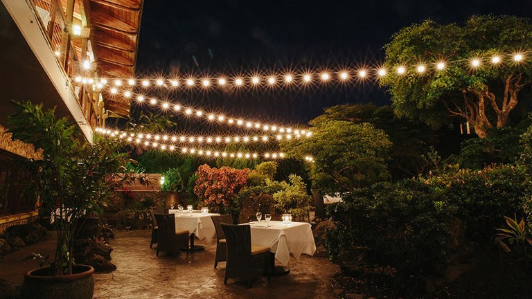Hotel Wailea's new Secret Garden dining program integrates the culinary with the experiential.