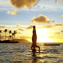 <p>The new Kahala Life program kicked off with a stand-up paddle experience. // © 2015 The Kahala Hotel & Resort</p><p>Feature image (above): The...