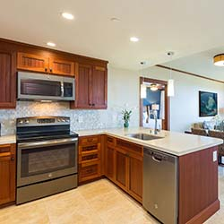 <p>Kitchens and dining areas make Koloa Landing's villas ideal for families. // © 2017 Koloa Landing Resort at Poipu</p><p>Feature image (above):...