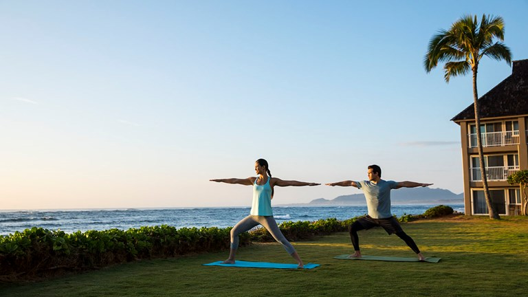 Rates at The ISO include freebies such as yoga classes by the sea.