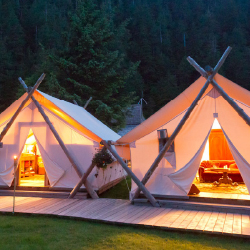 <p>With its luxury tents and array of offered adventures, the all-inclusive Clayoquot Wilderness Resort in British Colombia is a favorite among...