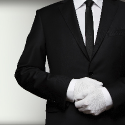 Many luxury hotels are beginning to include butler service. // © 2015 Thinkstock