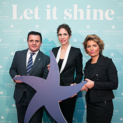 <p>From left: Aurelio Vazquez, COO of Iberostar Group; Sabina Fluxá, vice chairman and CEO of Iberostar Group; and Gloria Fluxá, co-executive vice...