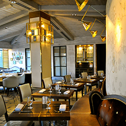 <p>The Gordon Ramsay at the London West Hollywood restaurant offers the chef's traditional cuisine with California influence. // © 2014 Samantha...