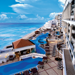 Hyatt Zilara Cancun is one of Hyatt's first all-inclusives. // © 2013 Real Resorts
