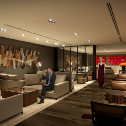 The DoubleTree by Hilton Santiago-Vitacura offers 230 guestrooms.  // © 2013 DoubleTree by Hilton