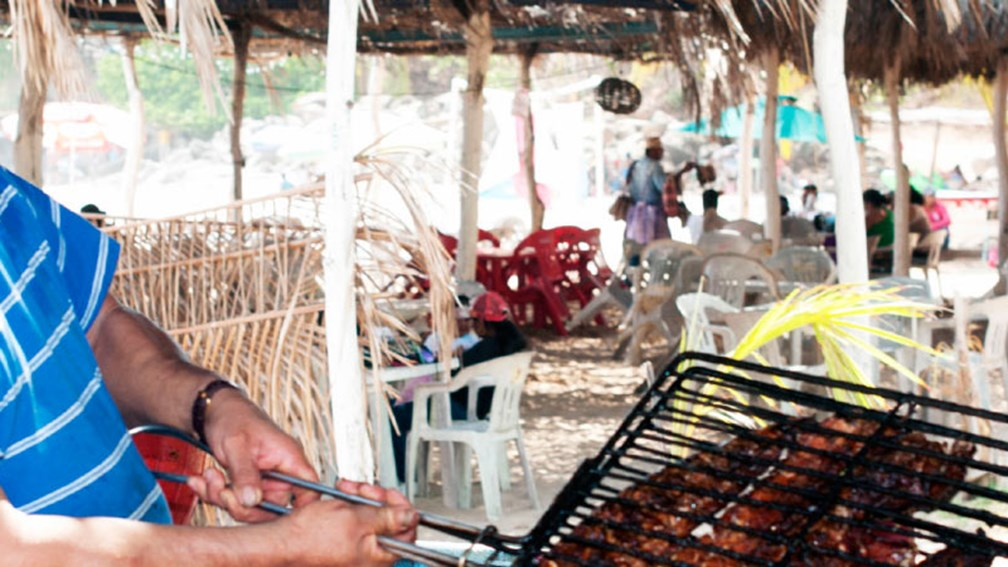 Pescado zarandeado is coated in spices and grilled over mangrove wood. // © 2016 Riviera Nayarit Tourist Board 2