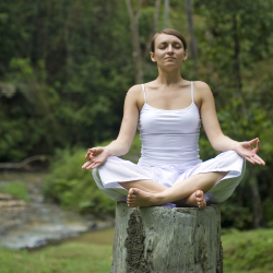 Yogis seek out retreats in Riviera Nayarit for its coastal views and jungle setting. // © 2013 Thinkstock