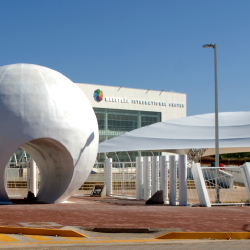 The $61 million Mazatlan International Center was constructed in 2009. // © 2013 Mazatlan International Center