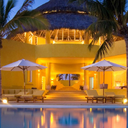<p>Costa Careyes' privacy and lush accomodations (bungalows, casitas, villas and even a castle) are attractive to visitors. // © 2015 Costa...