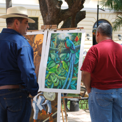 <p>Merida hosts a number of public art events. // © 2017 Maribeth Mellin</p><p>Feature image (above): Hacienda Xcanatun will be the venue for a...