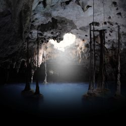 Riviera Maya's cenotes were sacred sites for the Maya. // © 2013 Experiencias Xcaret
