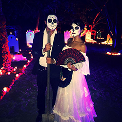 <p>Sandos Caracol Eco Resort in Riviera Maya features interactive activities and performances to celebrate Day of the Dead. // © 2015 Sandos...