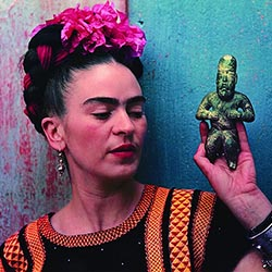 <p>Mexican artist Frida Kahlo // © 2016 Nickolas Muray</p><p>Feature image (above): Museo de Frida Kahlo, otherwise known as The Blue House, is...