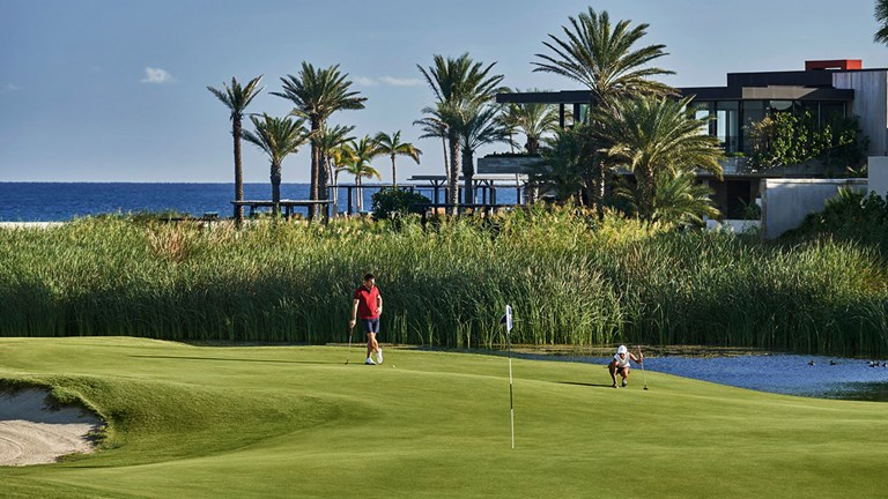 The resort includes the Costa Palmas Golf Club.