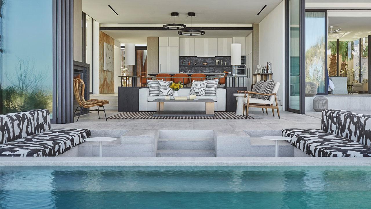 All guestrooms feature ocean views.