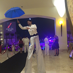 "<p>On Nov.19, Hyatt Ziva Los Cabos celebrated its official reopening with a ""Great Gatsby""-themed gala. // © 2015 Emma Weissmann</p><p>Feature image..."