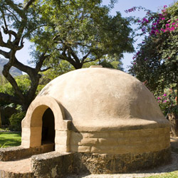 <p>A sweat lodge in the city of Tepoztlan, Mexico // © 2014 Mexico Tourism Board</p><p>Feature image (above): The sweat lodge at Ceiba Del Mar Beach...