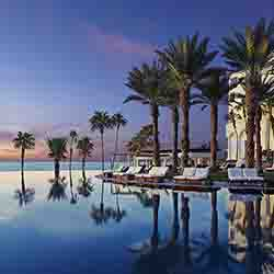 <p>With several new routes from LAX to Los Cabos, guests can stay at the Hilton Los Cabos, which faces the Sea of Cortez. // © 2016 Hilton Los Cabos...