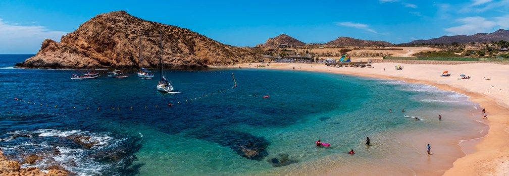 San Jose Cabo Mexico Map.5 Of The Best Swimmable Los Cabos Beaches Travelage West