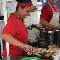 <p>Vallarta Food Tours stops at local food trucks for authentic Mexican cuisine. // © 2014 LatinFlyer.com</p><p>Feature image (above): The beautiful...