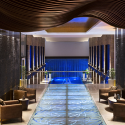 <p>After a multimillion-dollar renovation, Fiesta Americana Puerto Vallarta is now home to the spacious Gem Spa. // © 2014 Fiesta...