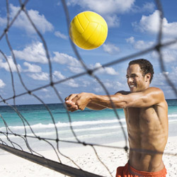 <p>Acapulco will host a beach volleyball championship in July. // © 2014 Thinkstock</p><p>Feature image (above): Mazatlan offers a number of great...