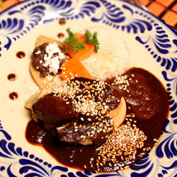 <p>Whip up an authentic meal during a cooking class at Mesones Sacristia, one stop on a five-day culinary tour from Journey Mexico. // © 2014 Mexico...