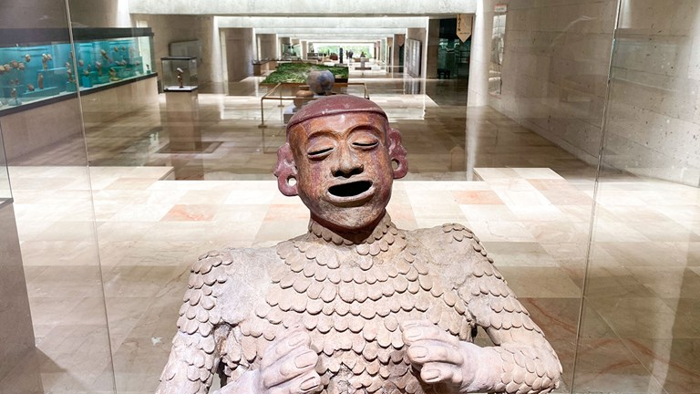 Xalapa's Anthropology Museum is the second most important facility of its kind in Mexico (behind Mexico City).