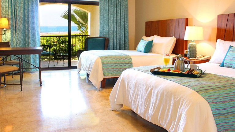 Many guestrooms at Estrella del Mar have ocean views.