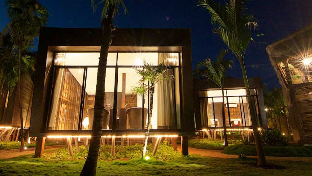 Be Tulum is a 20-suite hotel and spa surrounded by one of Tulum's tropical forests. // © 2015 Be Tulum 2