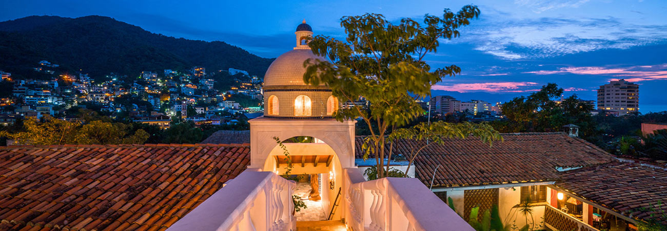 A Look at Puerto Vallarta's Iconic Casa Kimberly