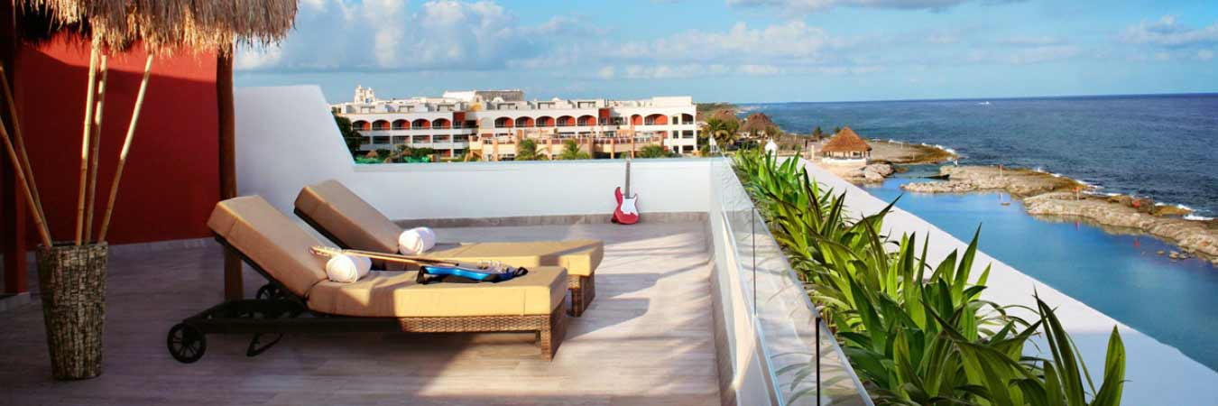 Discoveries at the Hard Rock Hotel Riviera Maya