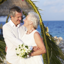 Vow renewals are another reason to bring multigenerational families together. // © 2014 Thinkstock