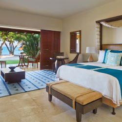 <p>Guests staying in beachfront casitas will appreciate their ocean view. // © 2014 Four Seasons Hotels & Resorts</p><p>Feature image above: Two...
