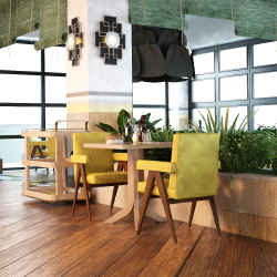 <p>Guests who dine on the terrace of La Laguna Restaurant and Lounge will have views of the beach. // © 2015 Farimont Mayakoba</p><p>Feature image...
