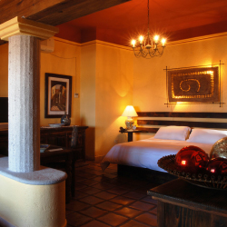 <p>No two rooms are alike at Posada de las Flores La Paz. // © 2015 Hotel Posada de Las Flores La Paz</p><p>Feature image (above): The malecon outside...