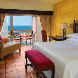 <p>Oceanview guestrooms overlook the Sea of Cortez. // © 2016 Sheraton Hacienda del Mar Golf & Spa Resort Los Cabos</p><p>Feature image (above):...