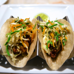 <p>Mexican cuisine is offered at two on-site restaurants at CasaMagna Marriott Puerto Vallarta Resort & Spa. // © 2016 Jeana...