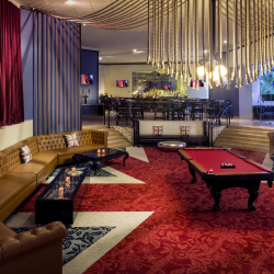 <p>Hard Rock's group offerings come at an arranged flat rate. // © 2016 Hard Rock Hotel Vallarta</p><p>Feature image (above): The property's lobby bar...