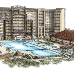 <p>An artist's rendering of the resort's pool area // © 2016 Bel Air Collection Resort & Spa Vallarta</p><p>Feature image (above): Bel Air...