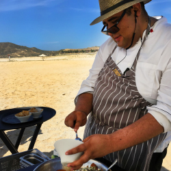 <p>During the weekly Hook & Cook, the resort's chef will create dishes from guests' catches. // © 2016 Dana Rebmann</p><p>Feature image (above):...