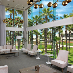 <p>The Family Concierge Lounge includes a separate check-in experience. // © 2017 Paradisus Los Cabos</p><p>Feature image (above): The property...