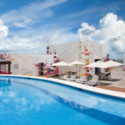 Aloft Cancun is the first property for the brand in Mexico. // © Aloft Hotels